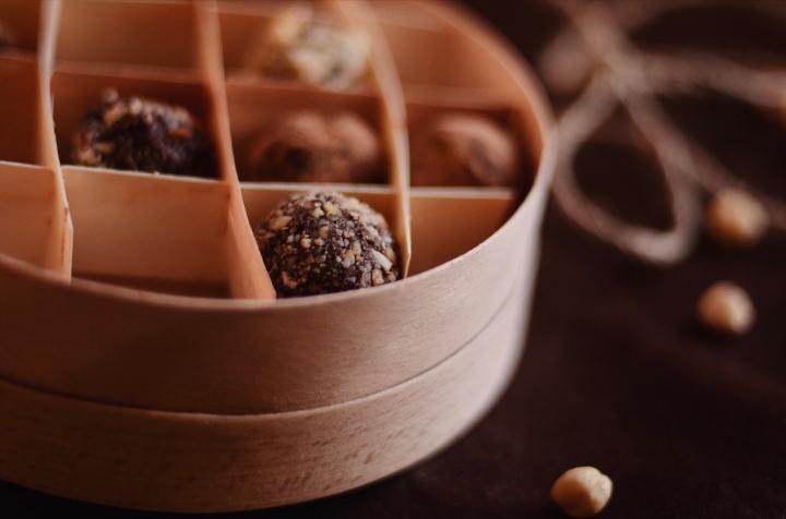 Healthy десерты изкешью