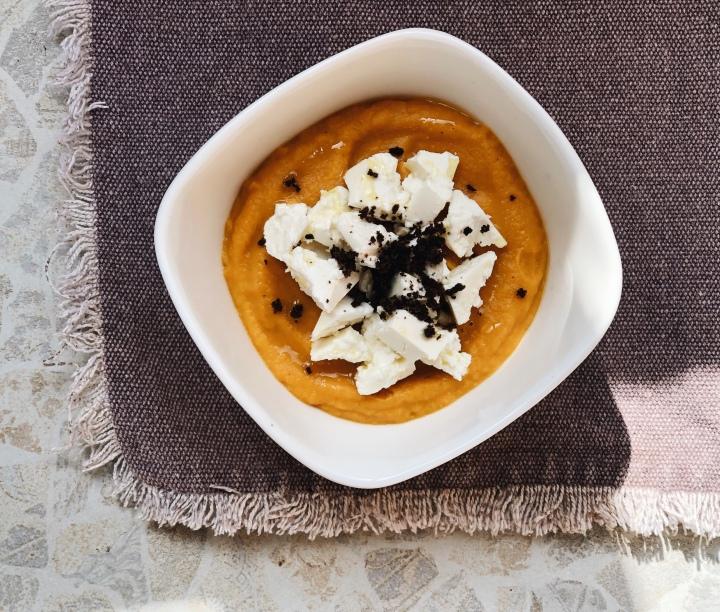 Нежный суп-пюре из краснойчечевицы